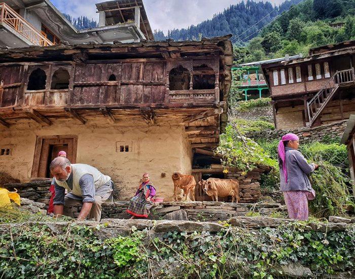 כפר הודי מרתק