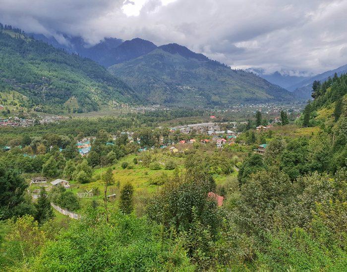 נוף עוצר נשימה בדרך למפלים
