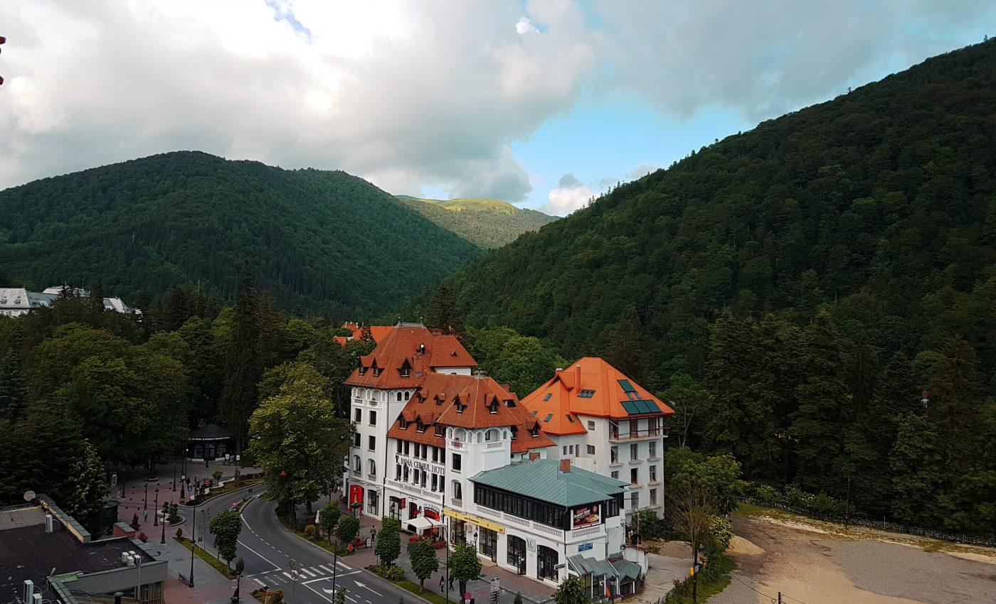 הנוף מחדר המלון