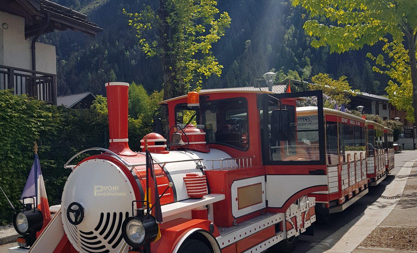 רכבת תיירים בשאמוני 7 יורו ל40 דקות