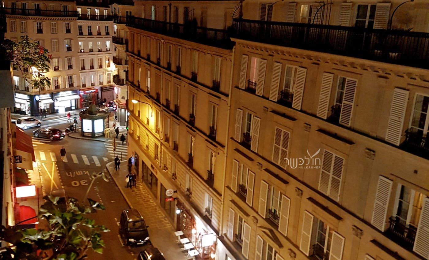 הנוף ממרפסת המלון