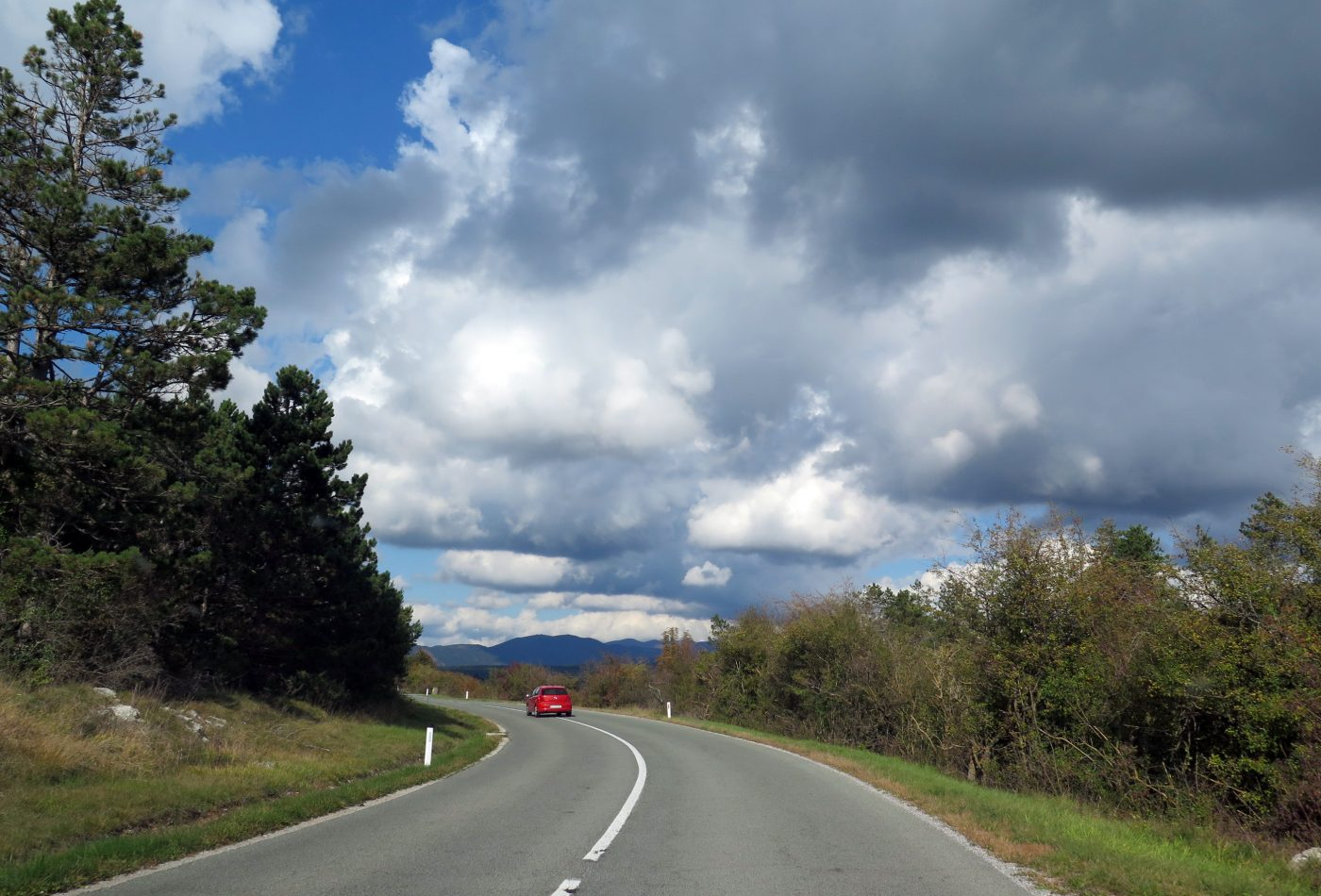 מזג אויר מושלם בסלובניה ושמיים יפים במיוחד