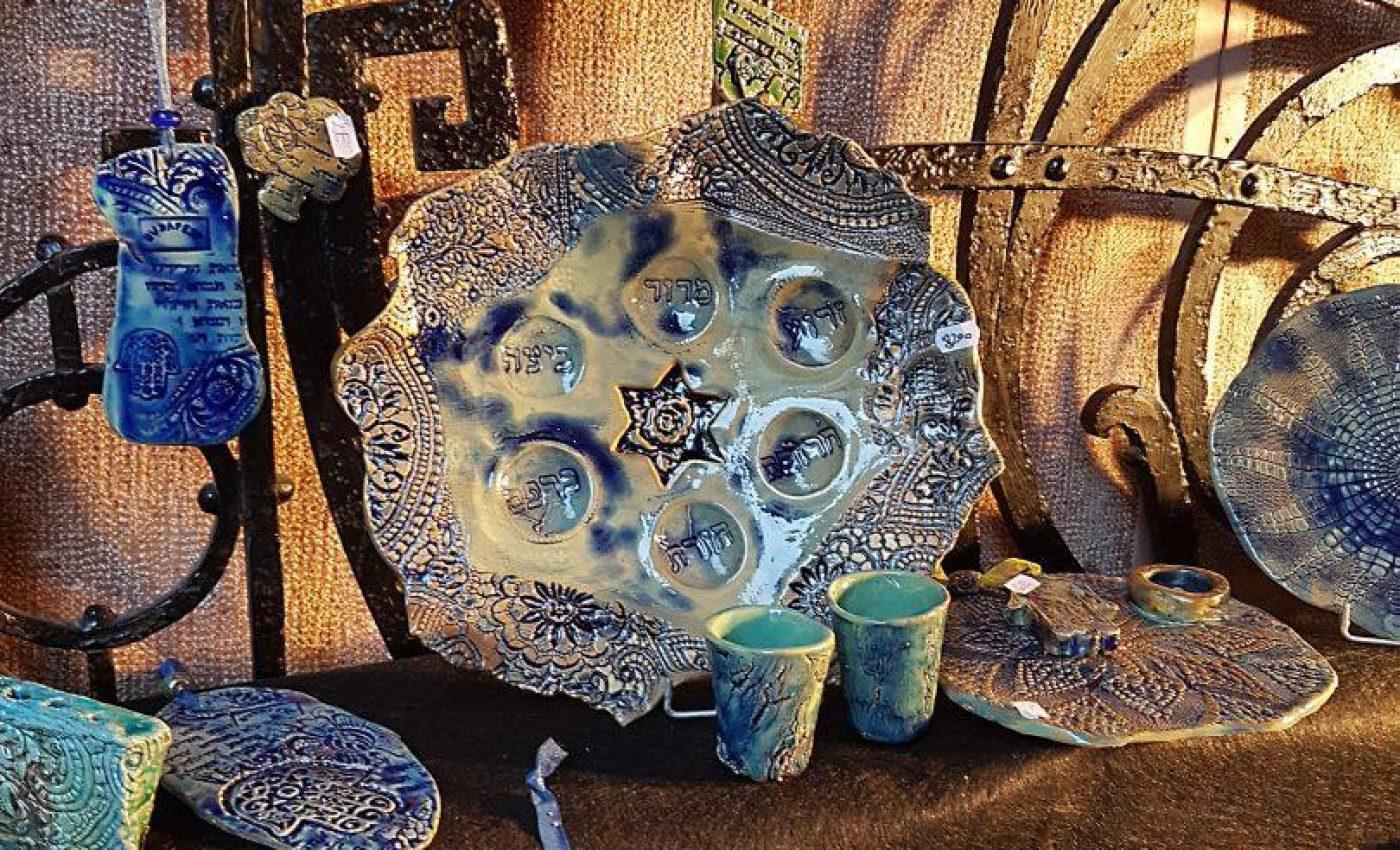 שוק מקומי אמנות יהודית