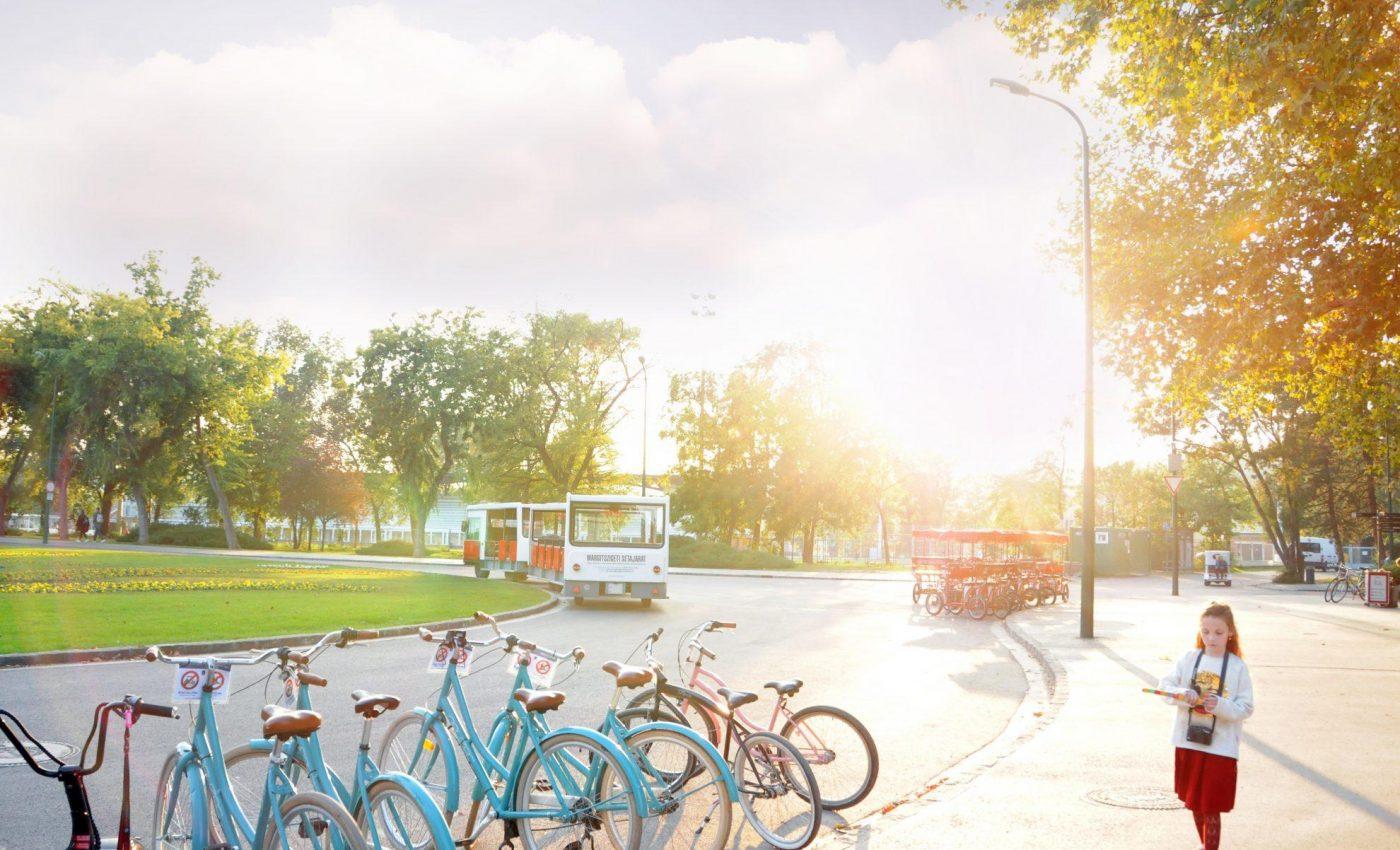 האי מרגריט-השכרת אופניים