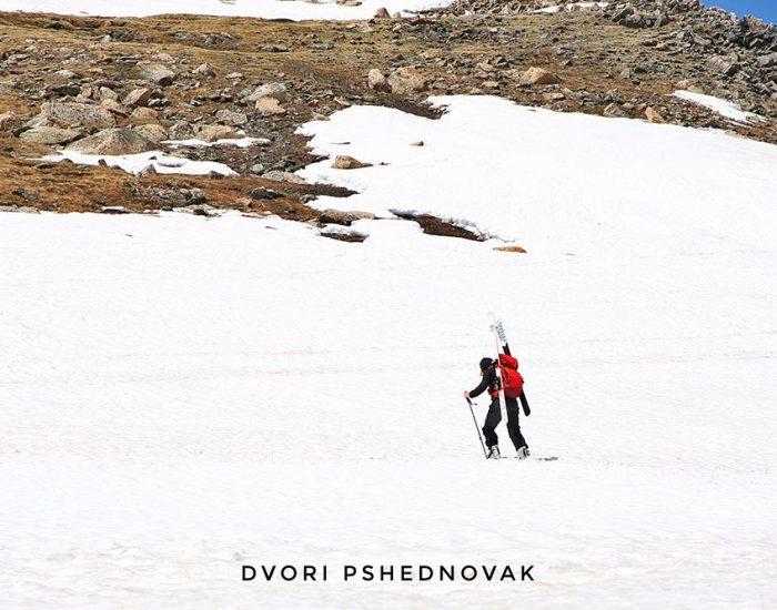 סקי בBeartooth Highway