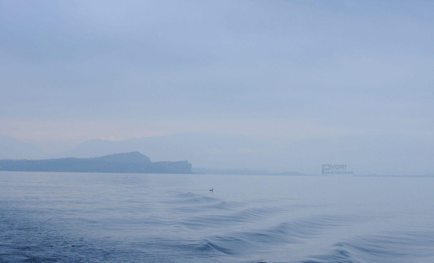 שקט ושלווה באגם גארדה