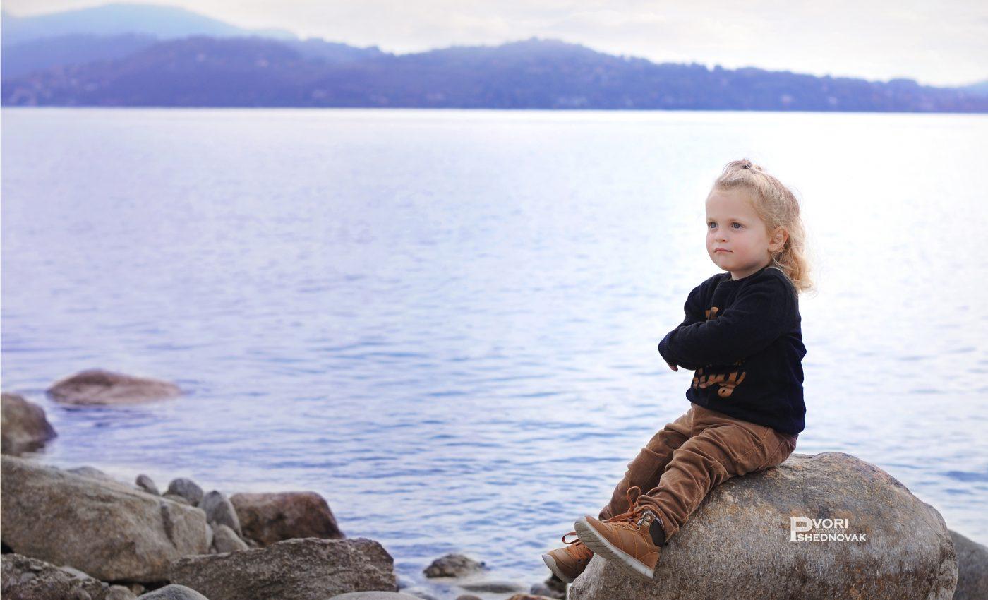 צילומי חלאקה באגם מאג'ורה