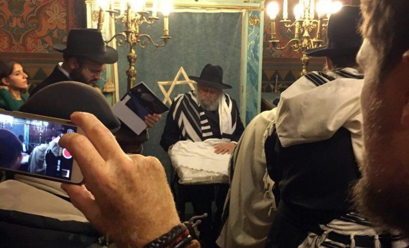 ברית לבנו של שליח חב''ד בפירנצה