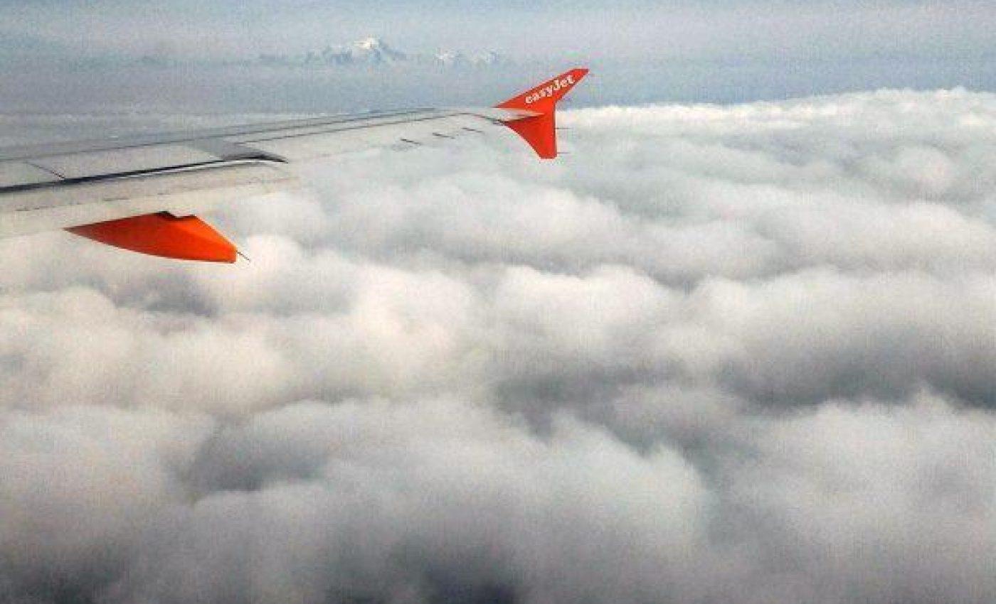 בעננים