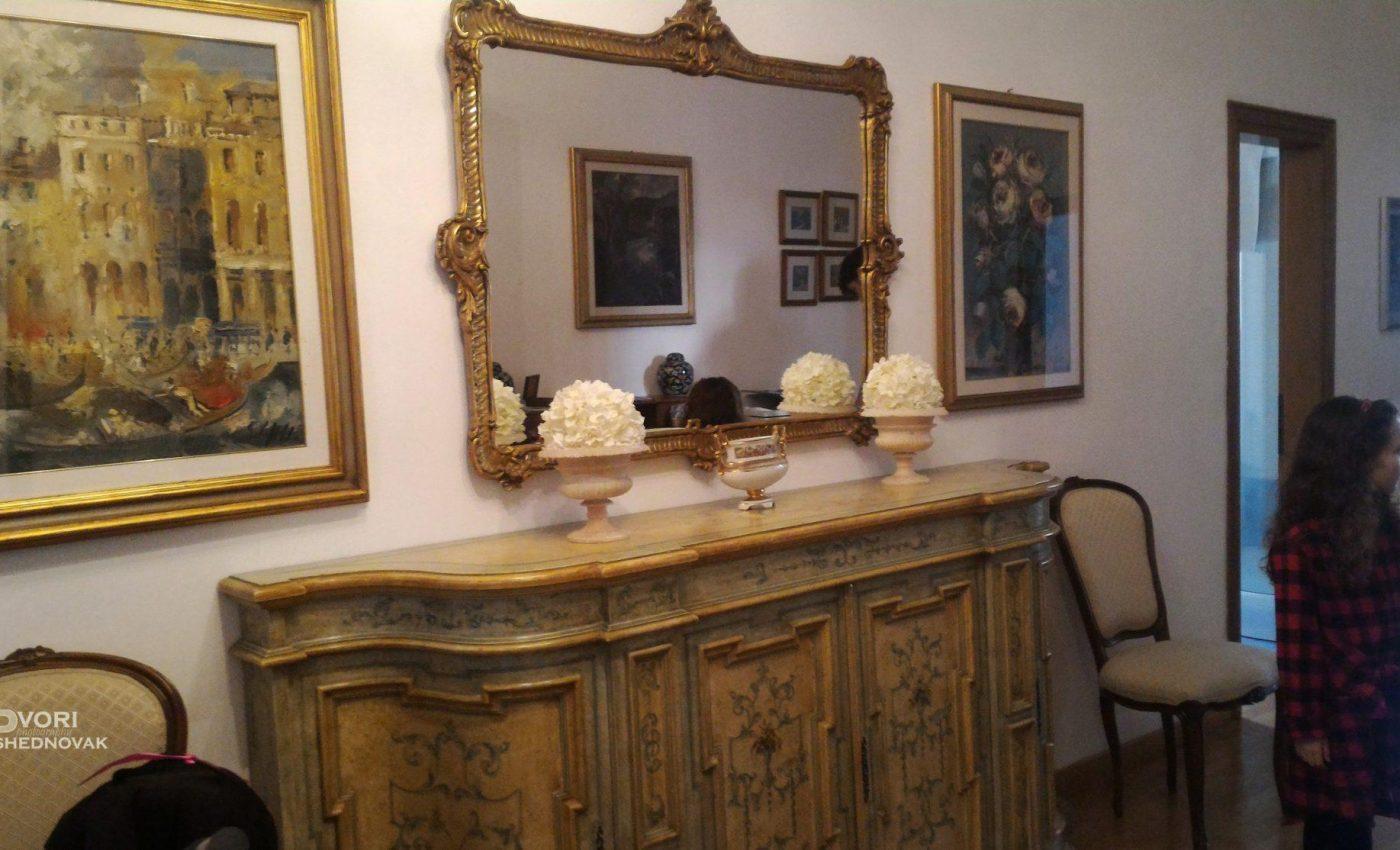הכניסה לבית בפירנצה