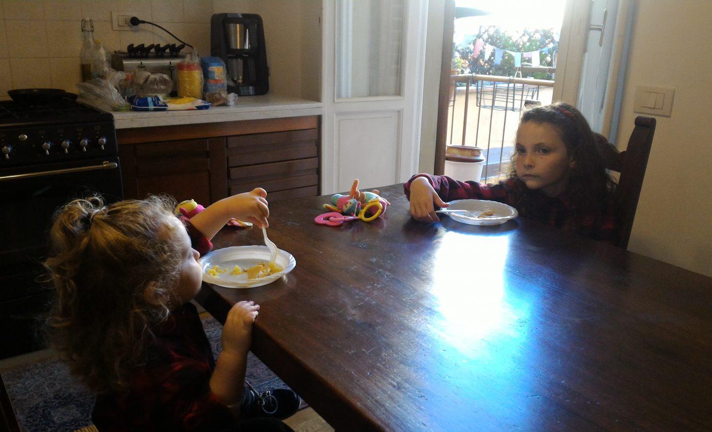 ארוחת צהריים במטבח הענק בפירנצה