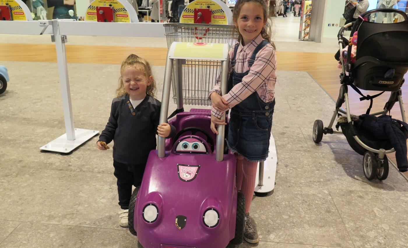 הקניון במילאנו ידידותי לילדים
