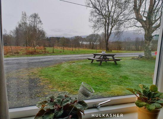 הנוף מחלון המטבח