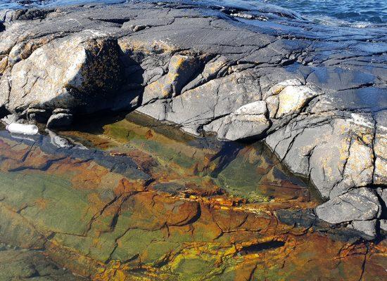 צבע האבנים בתוך המים- פלאי הבריאה!