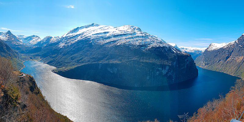המקום הכי יפה בעולם! תצפית על פיורד גייראנגר
