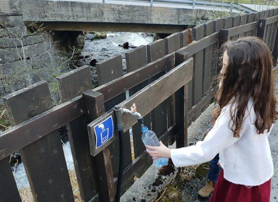 כשצמאים שותים מים מהנהר