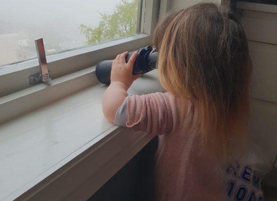 אולי עם משקפת כן רואים נוף?