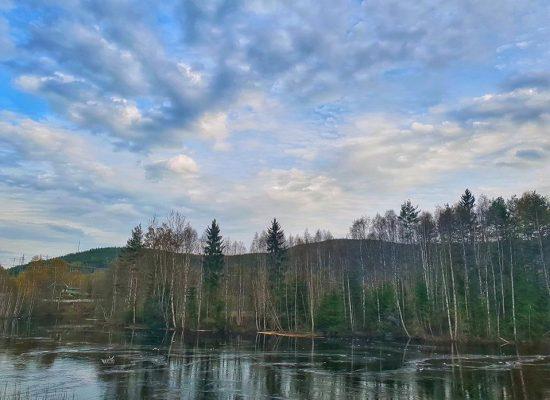 אגם קפוא