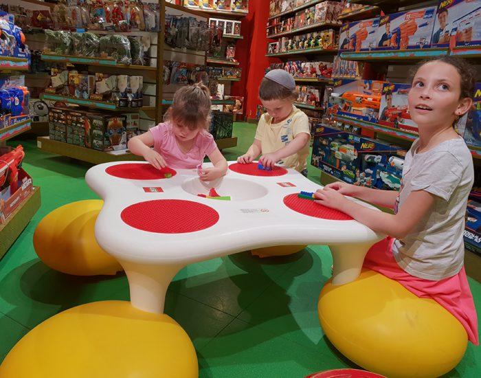 מעבירים זמן בחנות צעצועים בצ'אנדיגאר