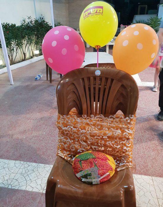 כסא וכתר יומולדת בהודו