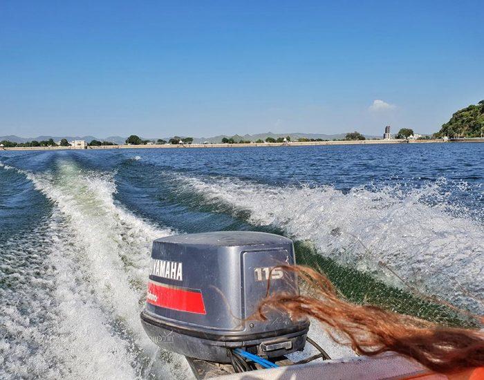 שייט מהיר באגם סאגר