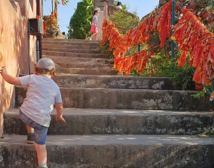 עוד כמה מדרגות לנוף המדהים