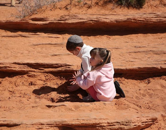 מה שילדים עושים בפרסת הסוס....