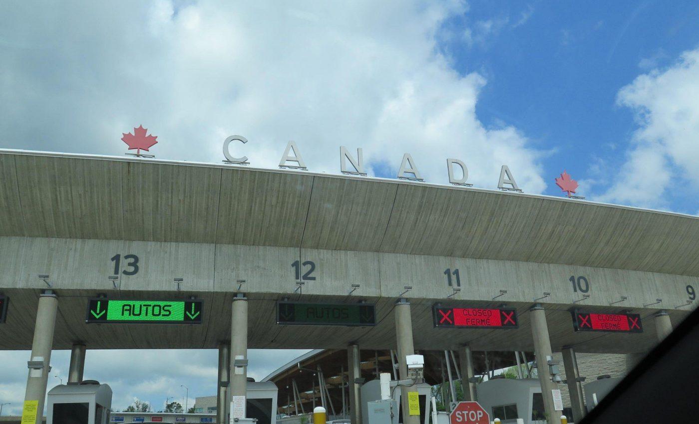 הגענו לקנדה! מעבר הגבול