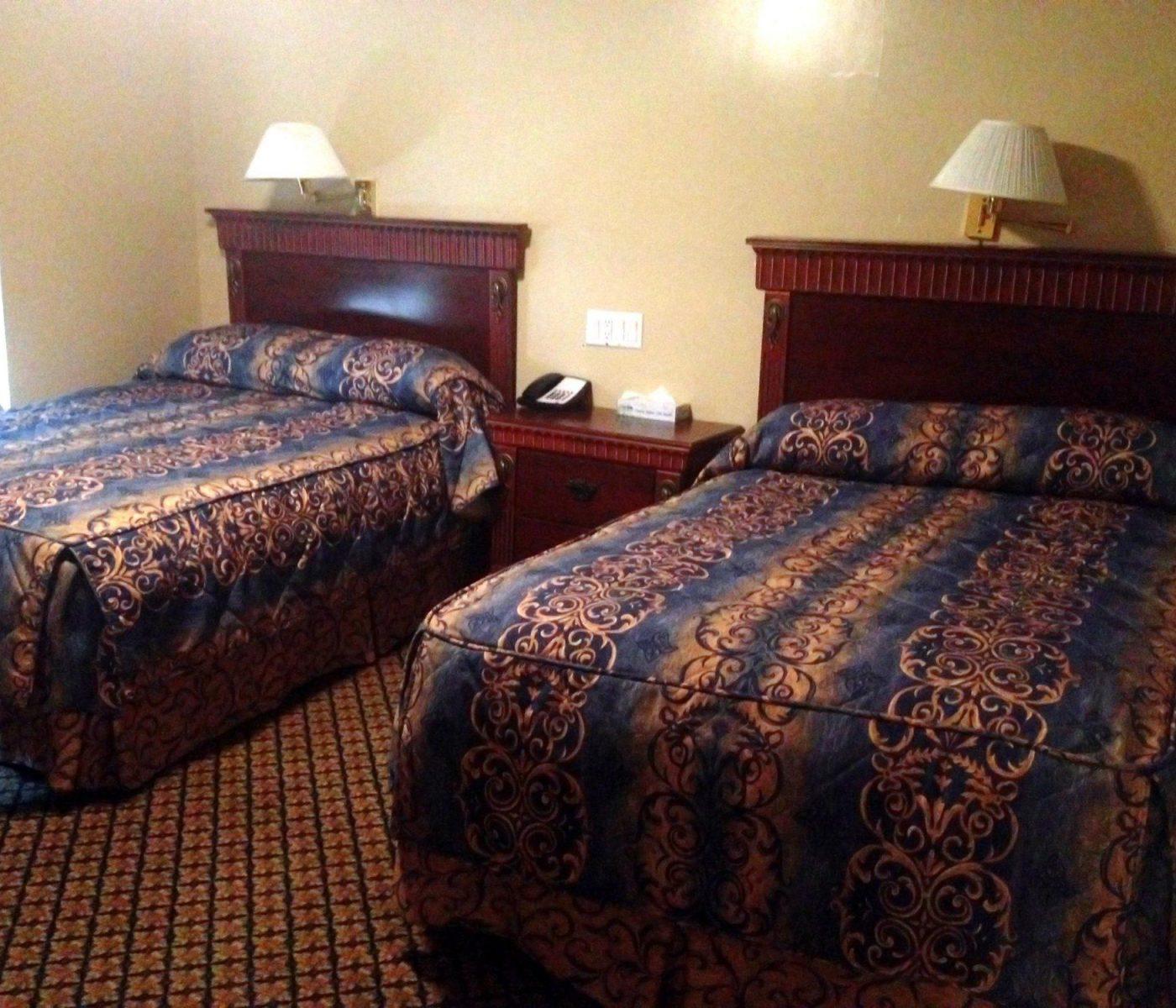 חדר השינה במלון פארק האוס