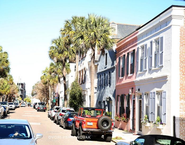צרלסטון רחוב ארכיטקטורה כשר דרום קרוליינה