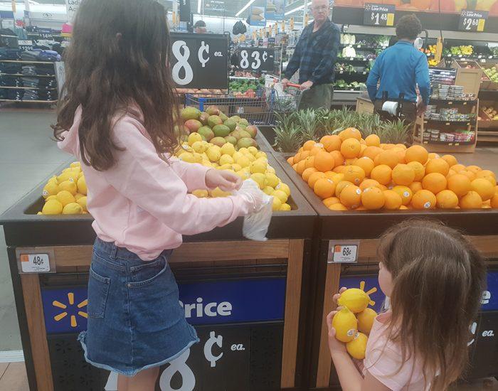 פירות וירקות בוולמרט
