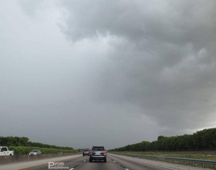 הדרך לאורלנדו. רגע גשם