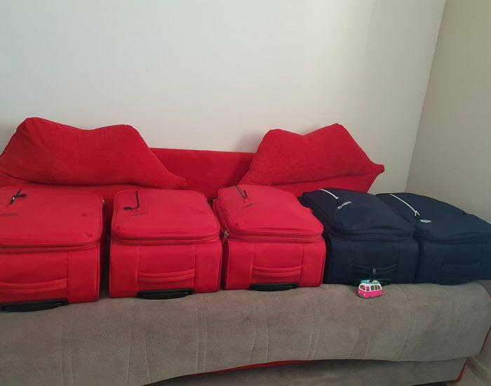 5 מזוודות טרולי קטנות וקלות