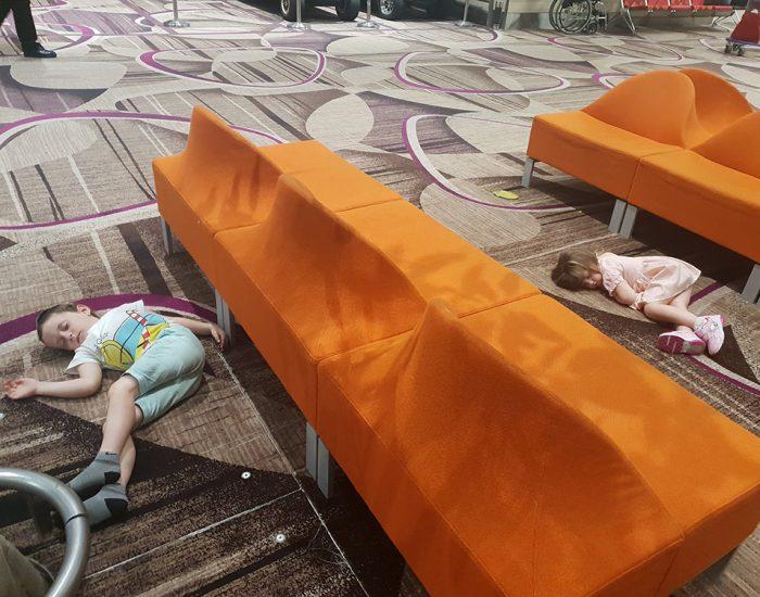 נרדמו על השטיח
