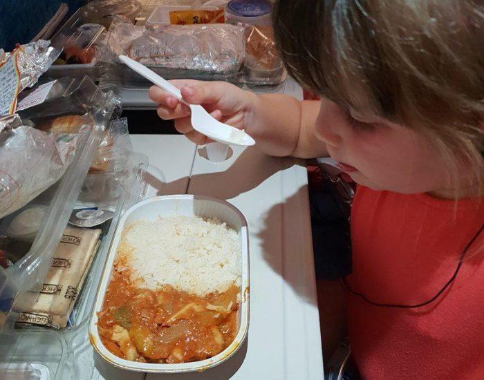 ארוחה כשרה וטעימה