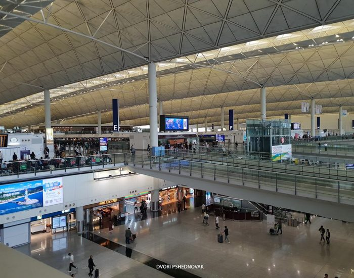 שדה התעופה הענק של הונג קונג