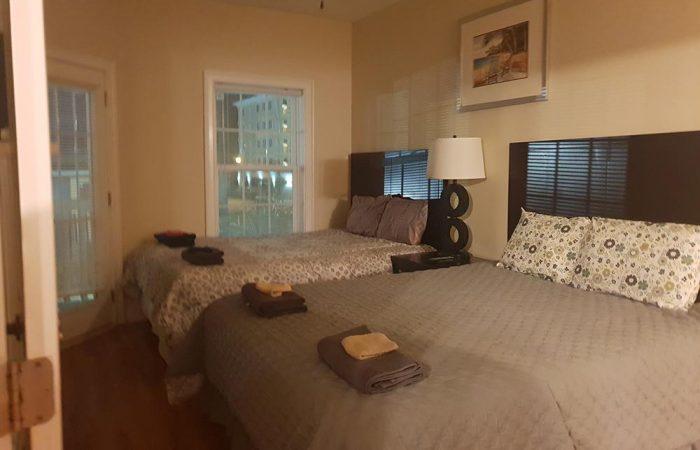 חדר שינה בדירת AIRBNB