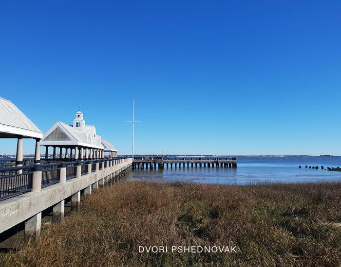 דרום קרוליינה צרלסטון כשר ים פארק טיילת
