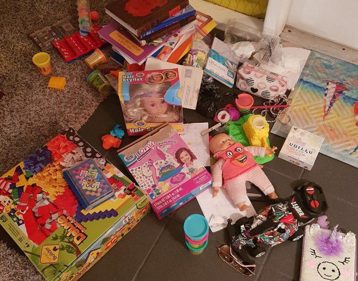צעצועים וספרי לימוד