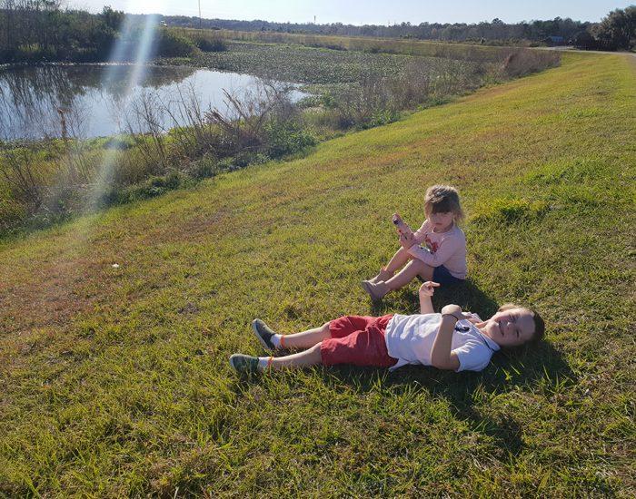 שמורת טבע בפלורידה פארק לאומי לדים משחקים
