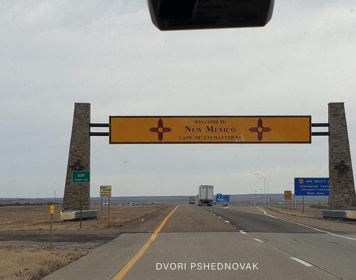 הגבול בין טקסס לניו מקסיקו