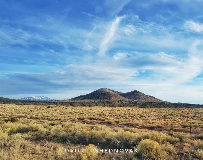נופים בדרך מהגרנד קניון אריזונה