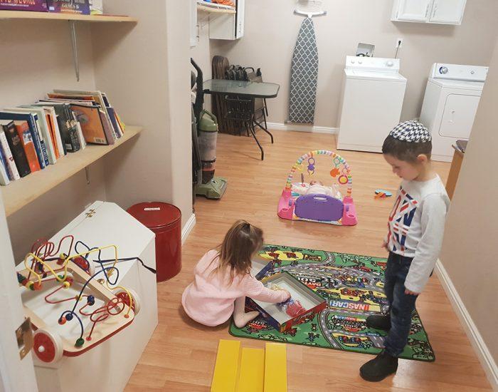 חדר משחקים וספרי ילדים