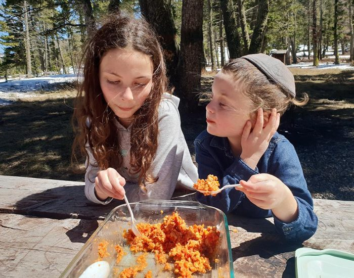 עצירה שלישית - ארוחת צהריים בטבע