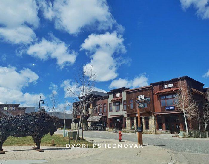 מרכז העיירה BIG SKY