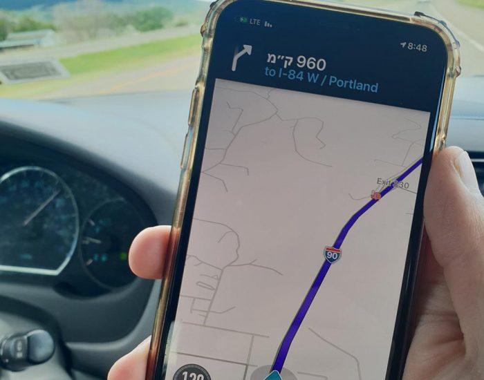 יוצאים לנסיעה של 10 שעות. 1000 ק'''מ על כביש אחד!