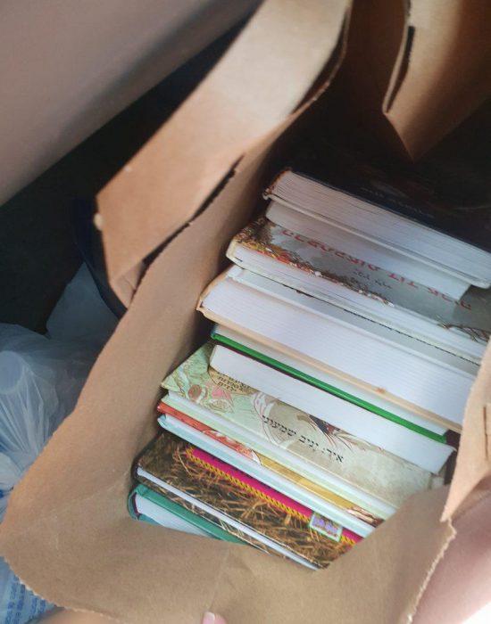 ספרים לשבוע (שהספיקו ל3 ימים)