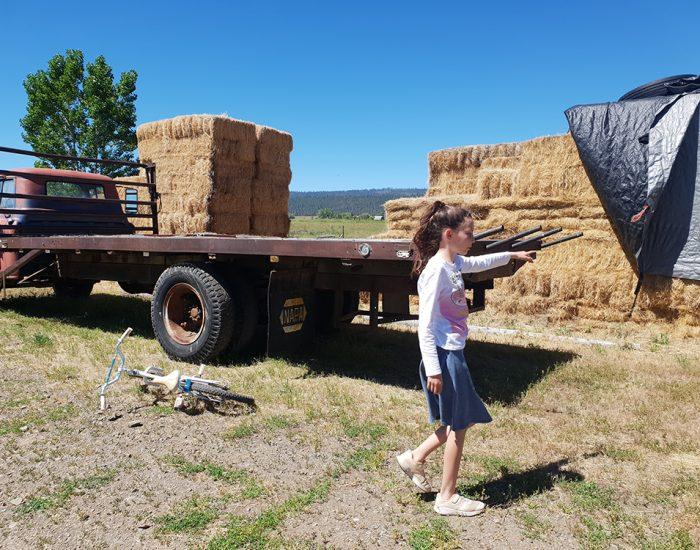 מלאי חוויות, רותי עושה לי סיור בחווה