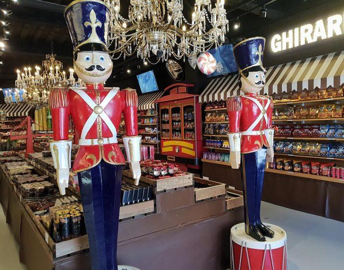 חנות שוקולד בPIER 39 סן פרנסיסקו