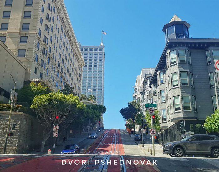 רחובות ריקים בסן פרנסיסקו